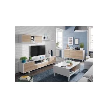 Belus meuble TV chêne