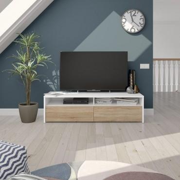 Kioto meuble TV 2 portes