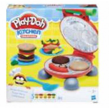 PLAY DOH. PLASTICINE HAMBURGER