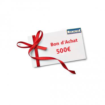 Bon d'achat 500€ - Daara...