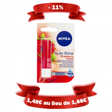 Baume à lèvre Nivéa - Fraise