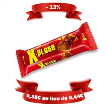 Barre chocolatée - X plose