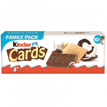 Biscuits - Kinder Cards -...