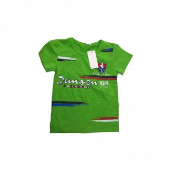 T-shirt vert fashion boy- 2ans
