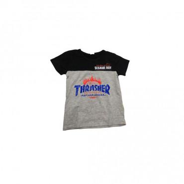 T-shirt coton THRASHER- 1ans