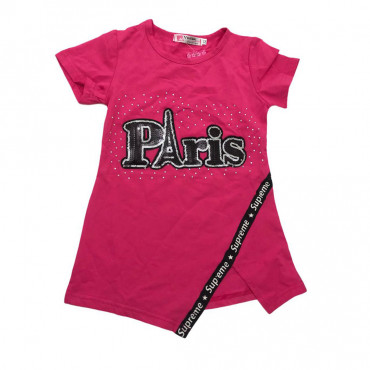 T-shirt Rose Paris -2ans- 3ans