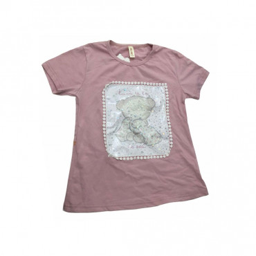 T-shirt saumon - 5ans