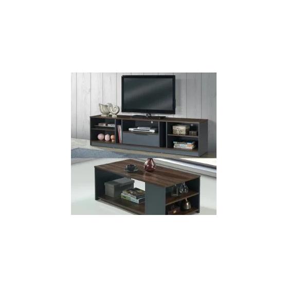 Tini Ensemble Meuble Tv Table Basse