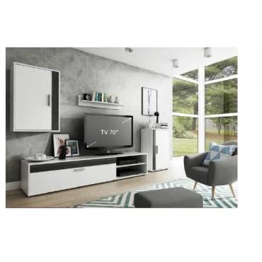 ANEMOS Meuble TV mural avec...