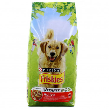 PURINA FRISKIES CROQUETTES...
