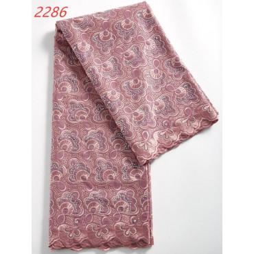 Tissu Brodé - Amina
