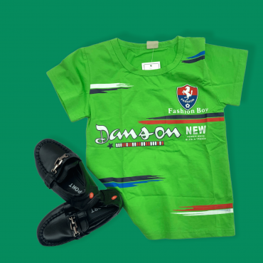 Ensemble T-shirt Vert...