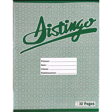 Cahier Distingo - 32 Pages
